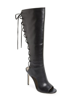 Via Spiga 'Teriza' Back Lace Tall Boot (Women)