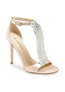 Via Spiga 'Timone' Satin T-Strap Sandal (Women)