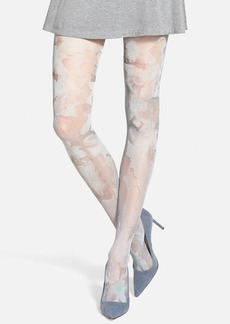 Via Spiga 'Watercolor Blossom' Tights