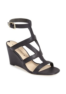 Via Spiga 'Winda' Leather Ankle Strap Wedge Sandal (Women)