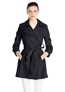 Via Spiga Women's Classic Double-Breasted Trench Coat