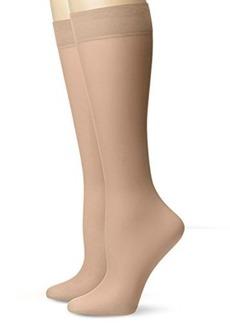 Via Spiga Women's Flawless Finish Knee High Sock