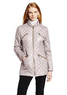 Via Spiga Women's Lightweight Diamond Quilt Jacket
