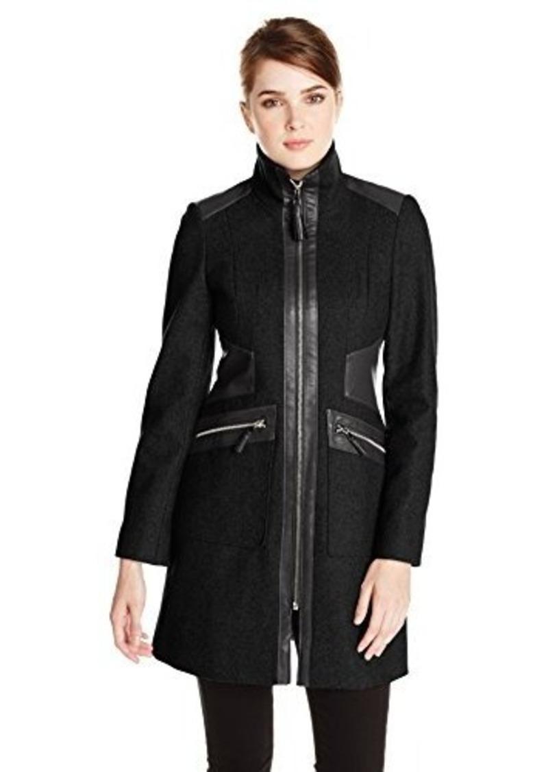 Via Spiga Via Spiga Women's Wool-Blend Walking Coat with ...