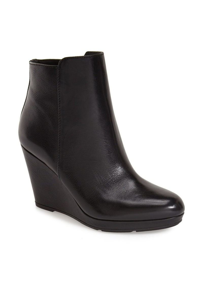 via spiga via spiga darina wedge bootie shoes