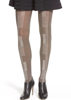 Via Spiga 'Night Sky' Opaque Tights