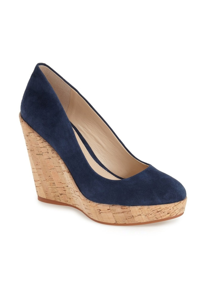 vince camuto vince camuto faran cork wedge