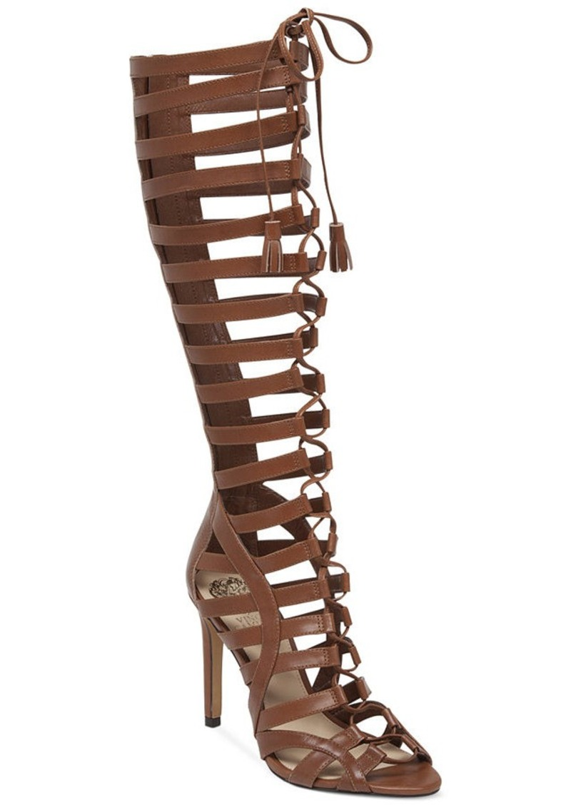 Vince Camuto Vince Camuto Olivian Tall Lace Up Gladiator