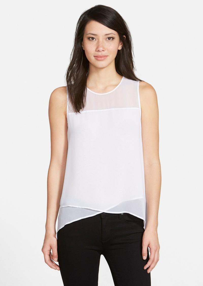 Vince camuto vince camuto sleeveless asymmetrical hem for Vince tee shirts sale