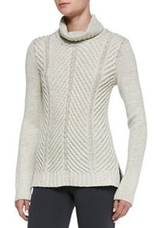 Chevron Turtleneck Sweater   Chevron Turtleneck Sweater