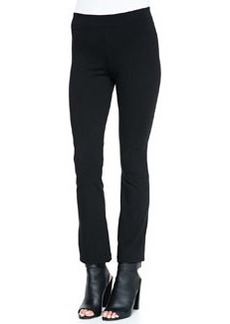 Cropped Flared-Ankle Leggings   Cropped Flared-Ankle Leggings