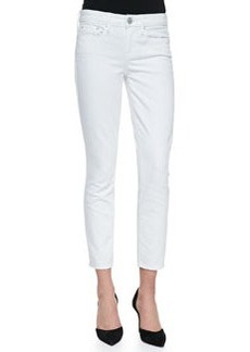Dylan Slim Ankle Jeans, White   Dylan Slim Ankle Jeans, White