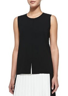 Flyaway-Front Sleeveless Top   Flyaway-Front Sleeveless Top