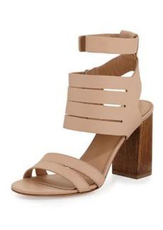 Vince Freida Leather Multi-Strap Sandal, Nude