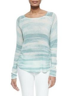 Long-Sleeve Lightweight Knit Sweater   Long-Sleeve Lightweight Knit Sweater
