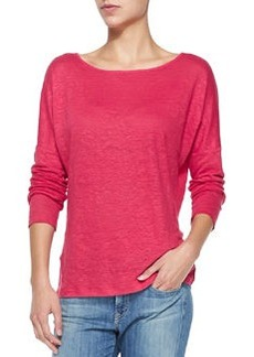 Long-Sleeve Linen-Slub Tee   Long-Sleeve Linen-Slub Tee