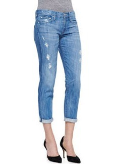 Mason Relaxed Distressed Cuffed Jeans   Mason Relaxed Distressed Cuffed Jeans