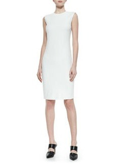 Sleeveless Fitted Ponte Dress   Sleeveless Fitted Ponte Dress