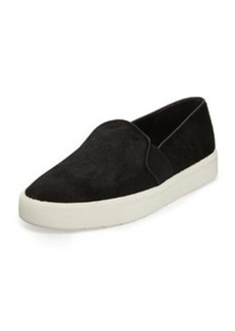 vince vince berlin calf hair skate shoe black shoes