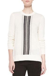 Vince Cashmere Regimental-Stripe Sweater