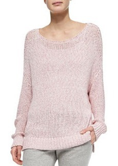 Vince Chunky Knit Drop-Sleeve Sweater