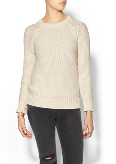 Vince Chunky Mesh Pullover