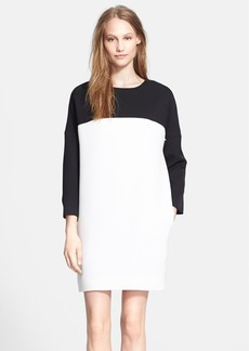 Vince Colorblock Bracelet Sleeve Dress