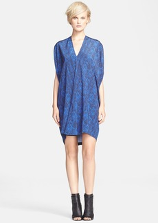 Vince Double V-Neck Dress