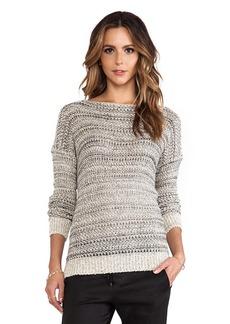 Vince Drop Shoulder Sweater in Gray