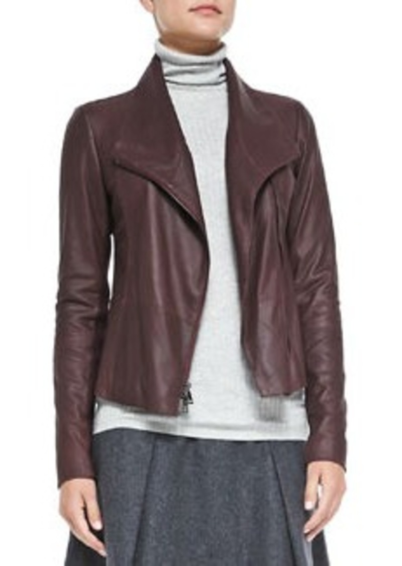 Vince leather jackets on sale