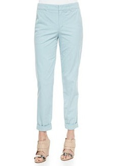 Vince Lightweight Twill Boyfriend Trousers