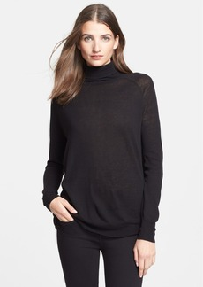Vince Lightweight Wool Blend Turtleneck Sweater