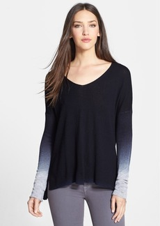 Vince Ombré V-Neck Sweater