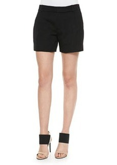 Vince Ottoman Single-Pleat Shorts