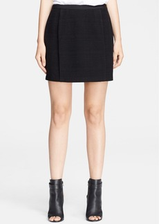 Vince Pleated Miniskirt