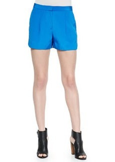 Vince Pleated Silk Shorts