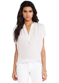 Vince Popover Blouse in Pink