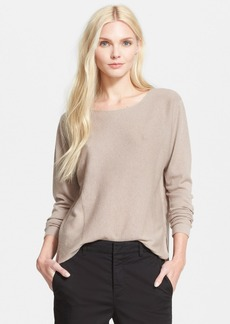 Vince Rack Stitch Shirttail Sweater (Online Only)