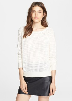 Vince Raglan Sleeve Thermal Sweater