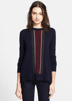 Vince Regimental Stripe Sweater