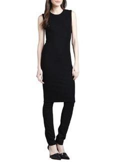Vince Ribbed-Knit Pencil Dress