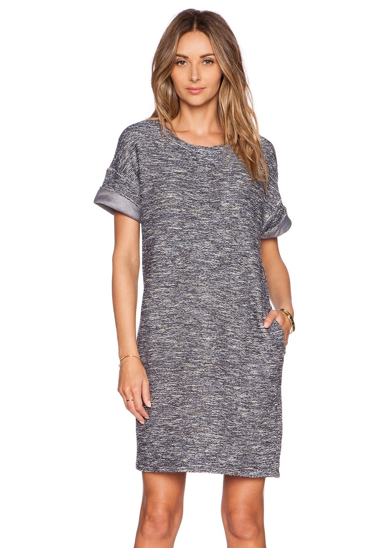 Vince Vince Rolled Sleeve Dress