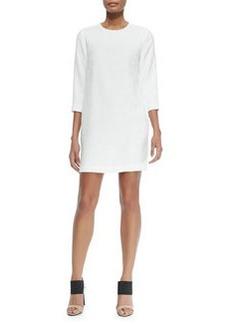 Vince Round-Neck Jacquard Dress