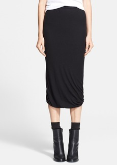 Vince Seamed Wrap Skirt
