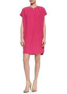 Vince Short-Sleeve Popover Dress