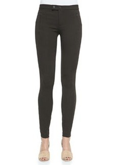 Vince Skinny Ponte Ski Pants, Dark Chocolate