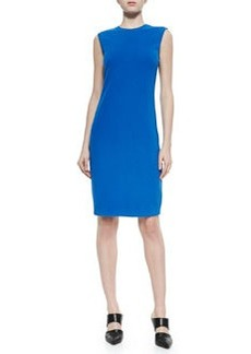 Vince Sleeveless Fitted Ponte Dress