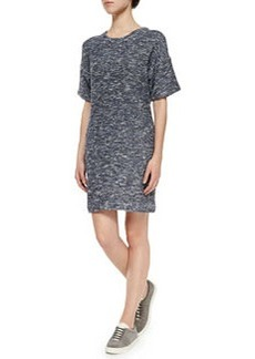 Vince Space-Dye Knit Dress