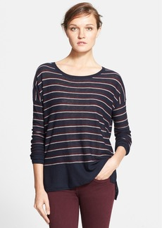 Vince Stripe Wool Blend Sweater