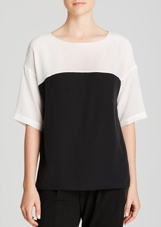 Vince Tee - Color Block Silk
